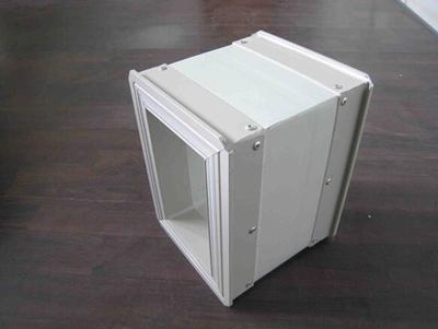 双层彩钢板玻纤复合风管