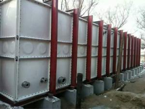 玻璃钢水箱竣工