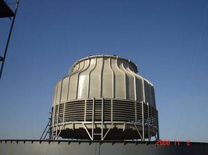 圆形低噪声冷却塔